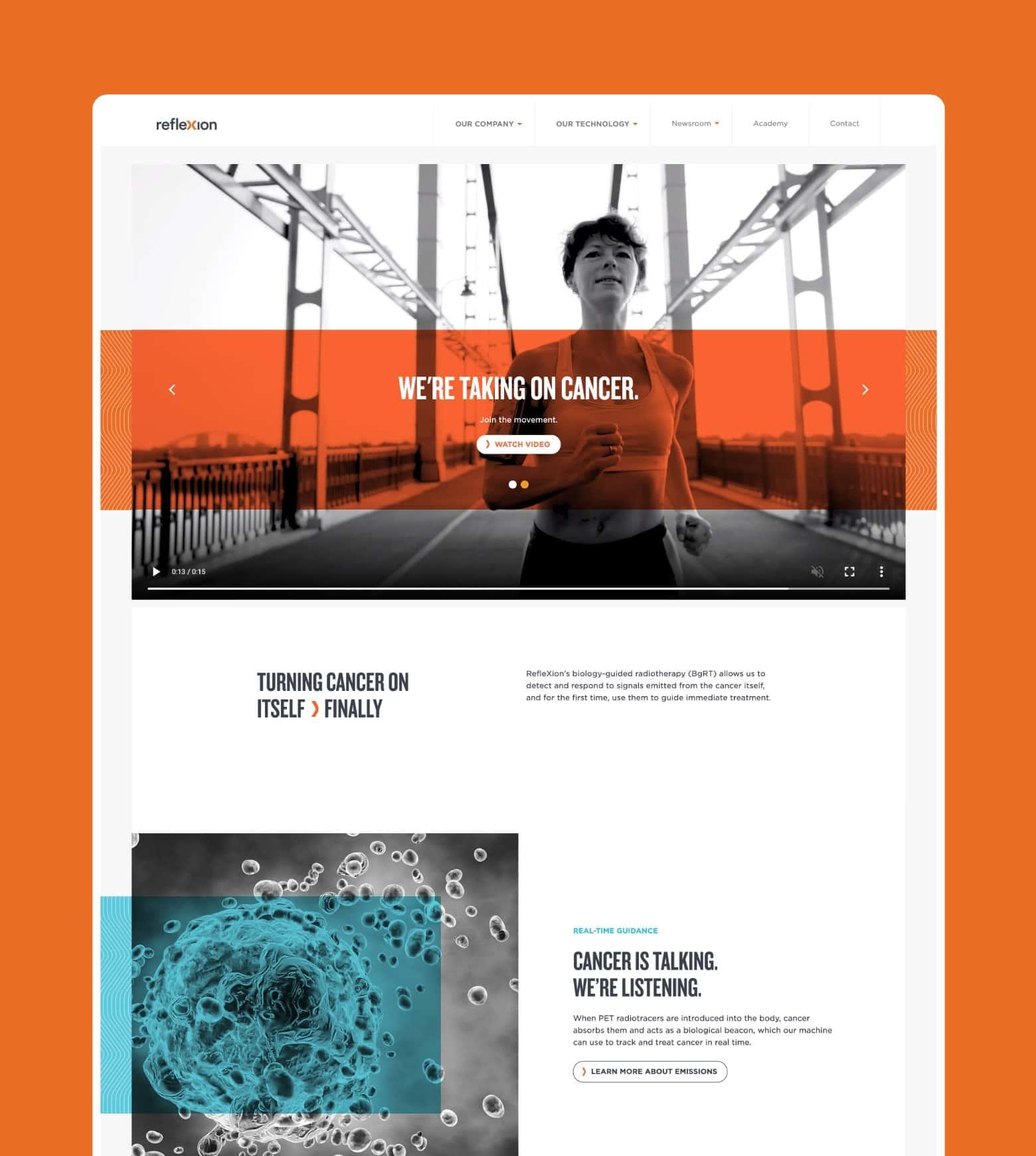 project RefleXion Website