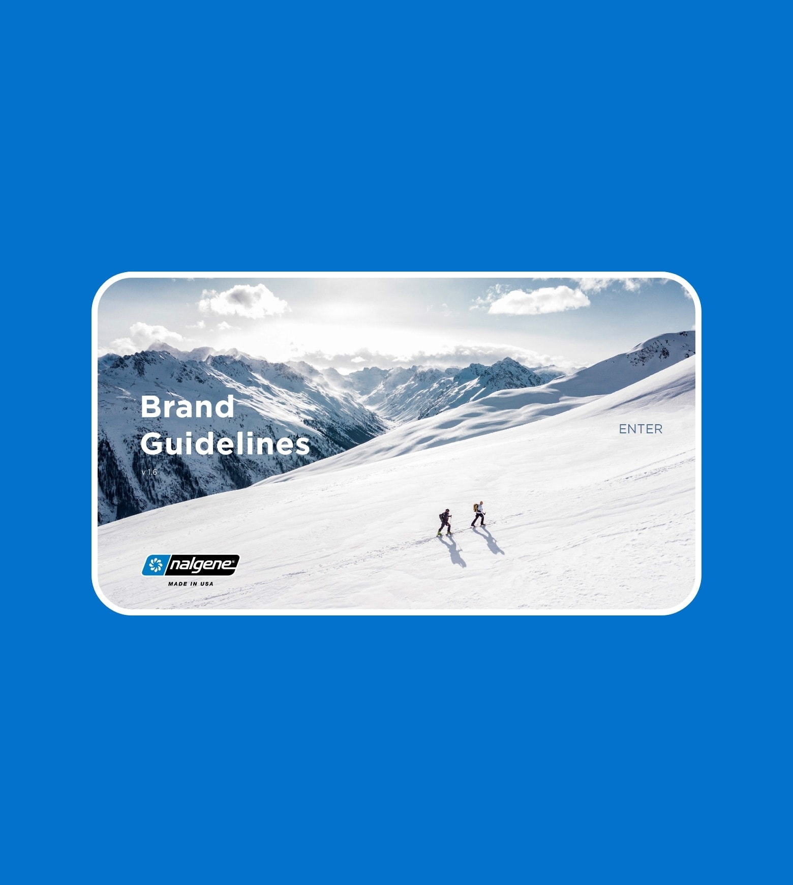 project Nalgene Brand Standards
